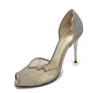 Giorgio Armani Metallic Stiletto Heels